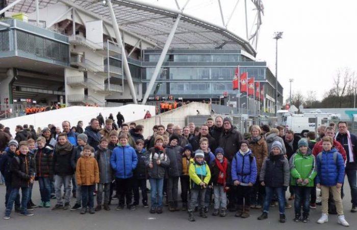 JSG besucht die Fußball-Bundesliga