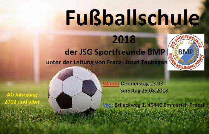 Fußballschule der JSG BMP mit Franz-Josef Tenhagen