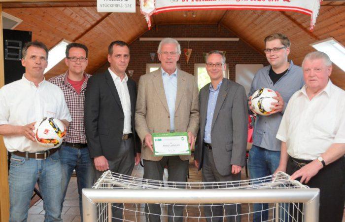 """Heinz Lukkezen ist Mitglied im """"Club 100"""""""