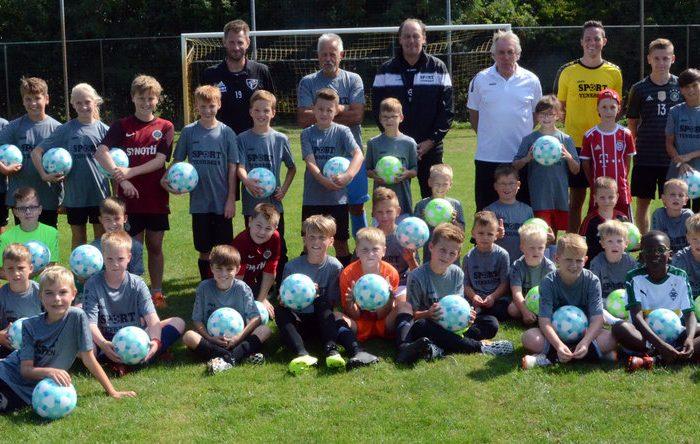 Tenhagens Fußballschule ist ein Erfolg