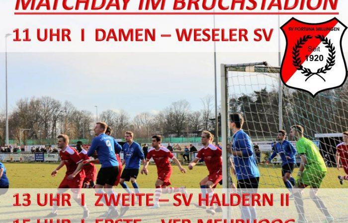 Matchday im Bruchstadion