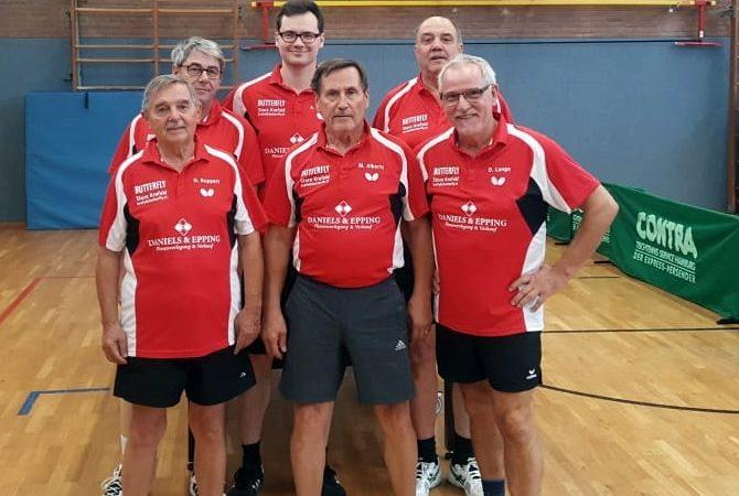 """Tischtennis: Fortunas """"Erste"""" weiterhin auf Erfolgskurs"""