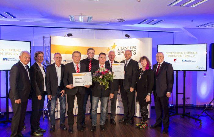 """Fortuna Millingen erhält """"Sterne des Sports"""" für soziales Engagement"""
