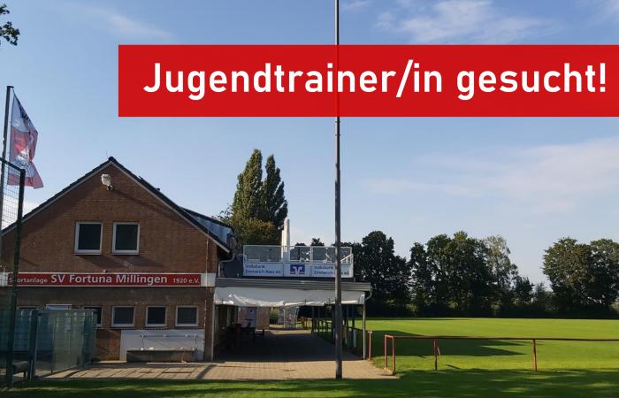 Werde Jugendtrainer/in bei Fortuna Millingen