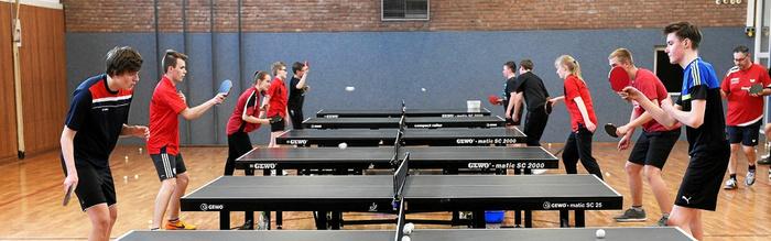100 Jahre Fortuna Millingen: Als Tischtennis Boom-Sportart war