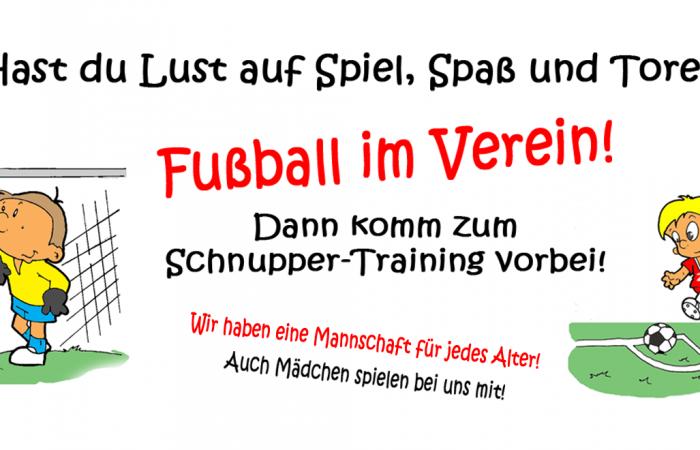 Fußball Spielen bei Fortuna Millingen: Jetzt zum Schnuppertraining kommen!